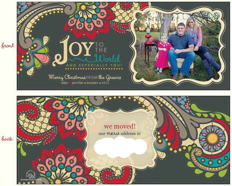 Christmas Card: 2012 - Life in the Green House