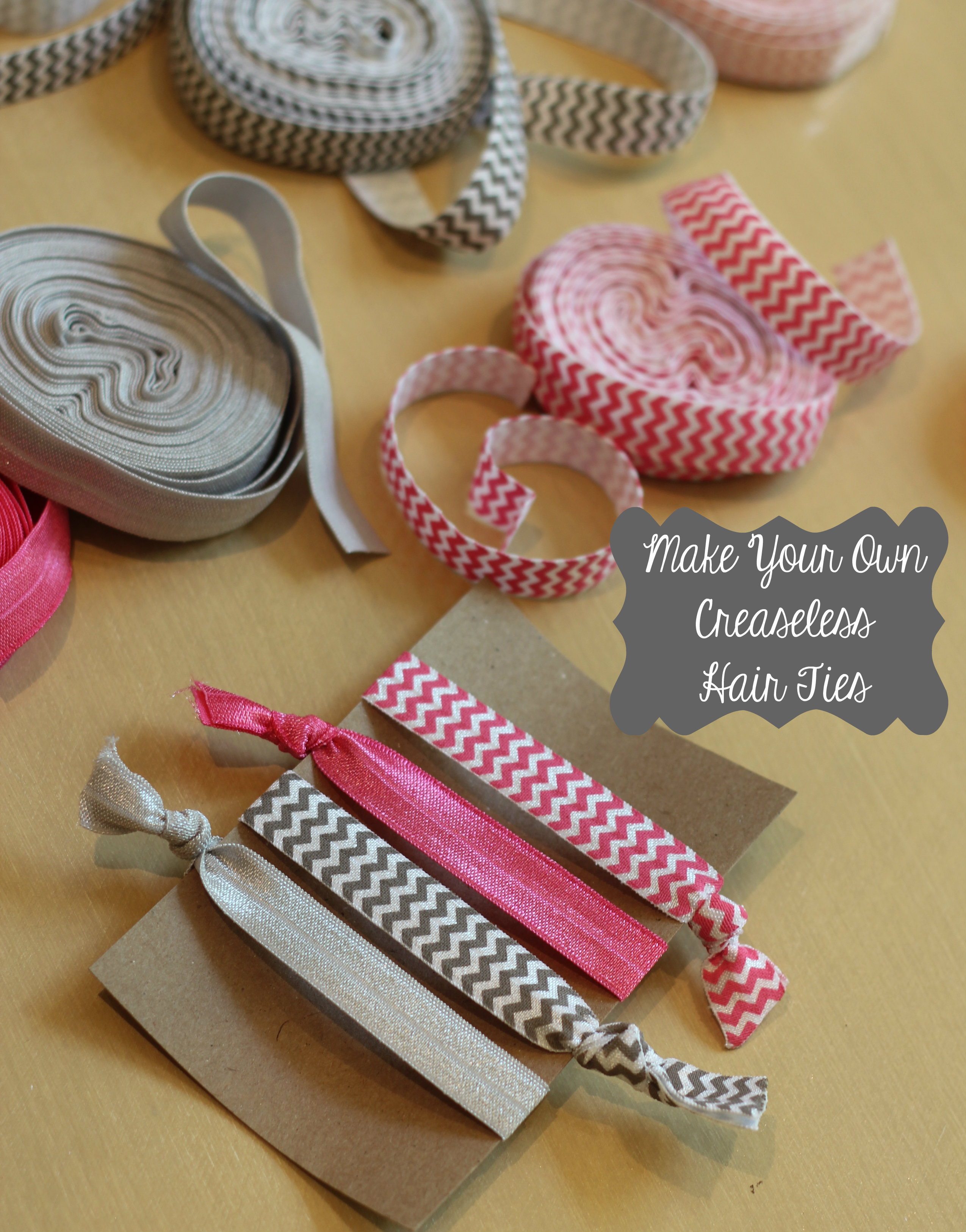 DIY creaseless hair ties - Life in the Green House f8f6e518e4d