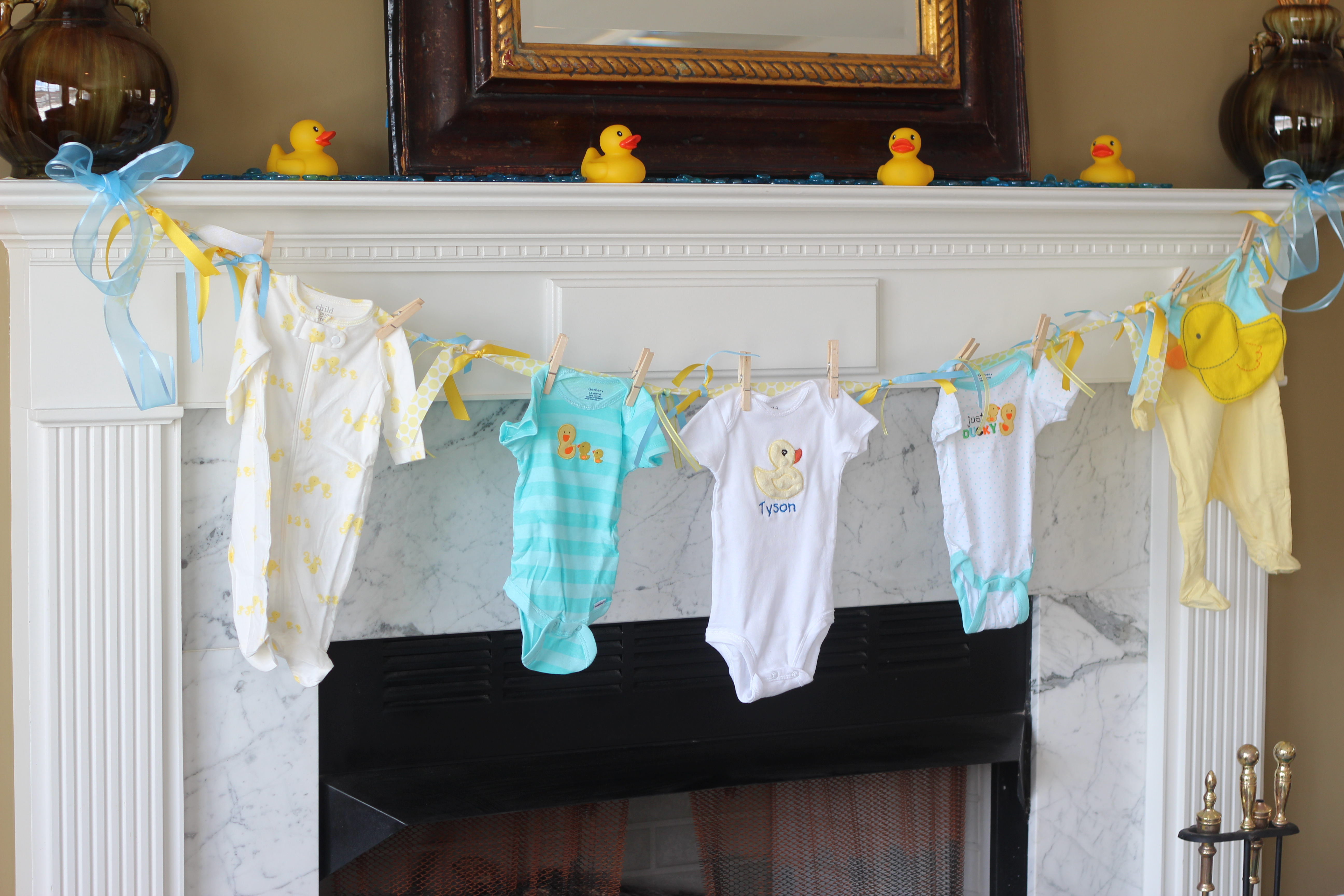 rubber ducky baby shower party ideas pinterest