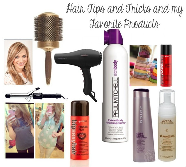 hair tips and tricks and my favorite products - Life in the Green ...