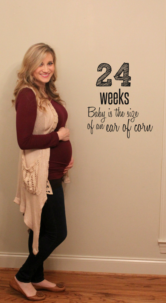 24 weeks and belly buds - Life in the Green House