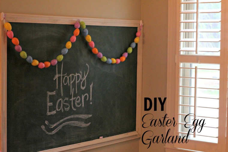 Easter Egg Garland on Every Day Cheer