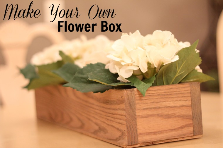 make your own flower box