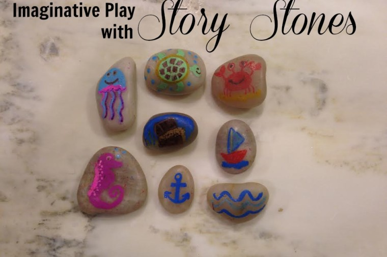 Story Stones on Every Day Cheer