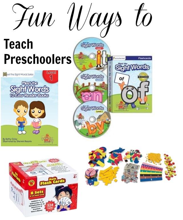 teach preschoolers