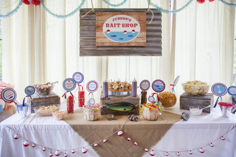 Judson's Bait Shop, a first birthday celebration