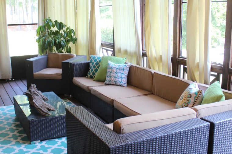home tour tuesday: the back deck