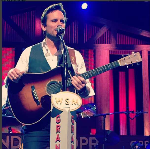 Deacon at Grand Ole Opry