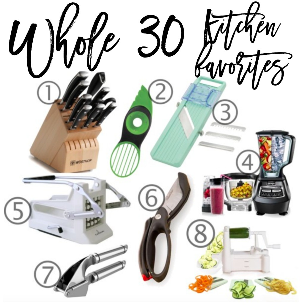 whole30 kitchen favorites
