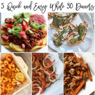 LiveWhole365: My Top 5 Whole 30 Dinners