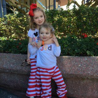 Wardrobe Wednesday: Littles Style for Disney World