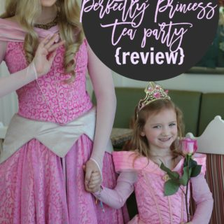 Disney World – Perfectly Princess Tea Party Review