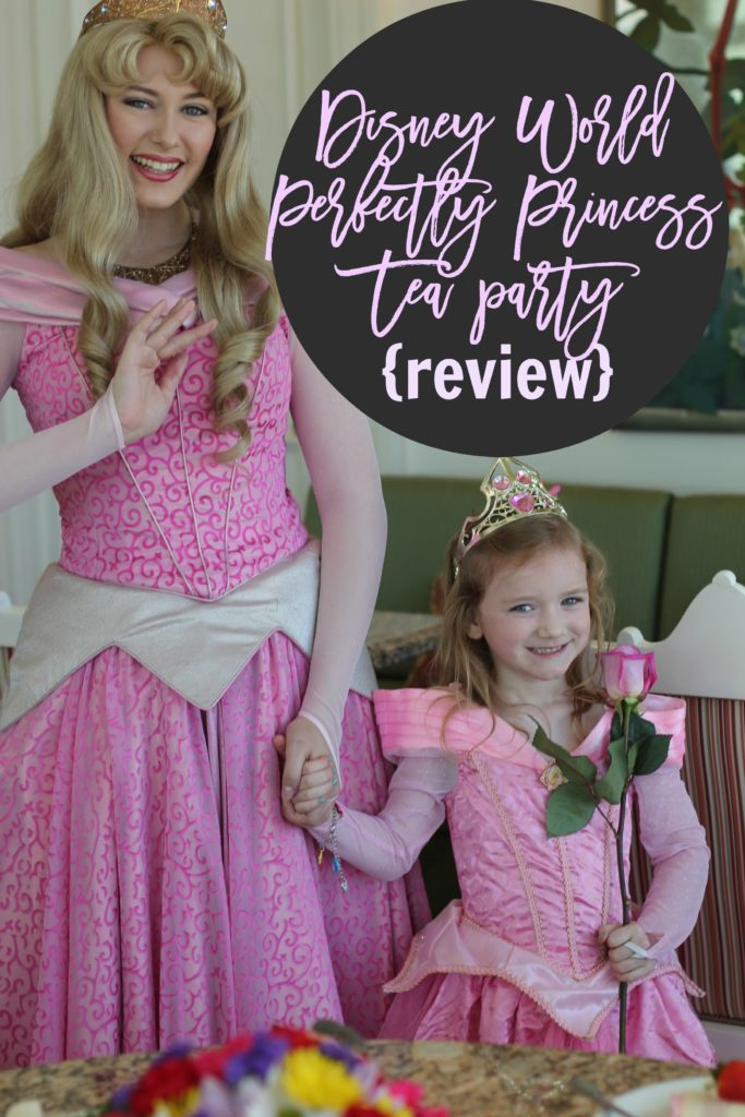 Disney World Perfectly Princess Tea Party Review Life in the