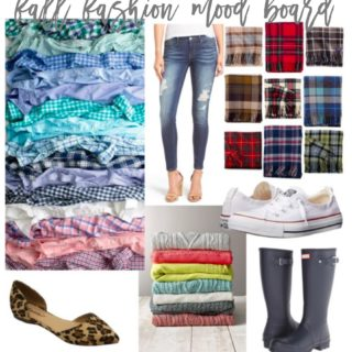 blogtember + wardrobe wednesday: fall fashion mood board