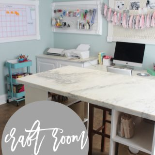 blogtember: a craft room tour