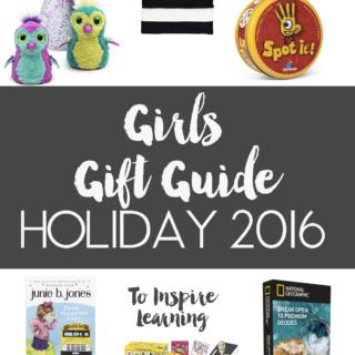 girls gift guide: christmas 2016