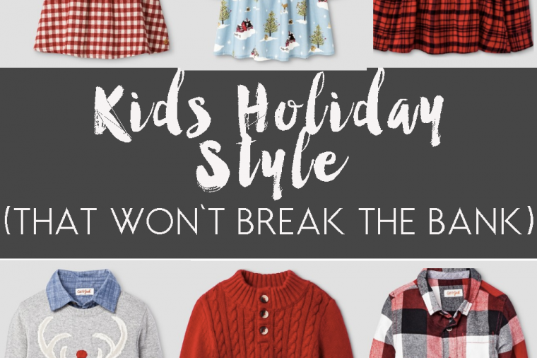 christmas clothes for kids (that won't break the bank)