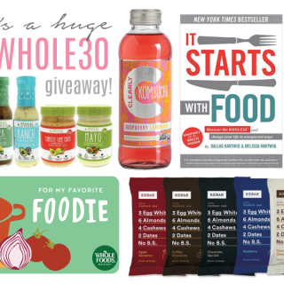 Whole 30 update + giveaway!!