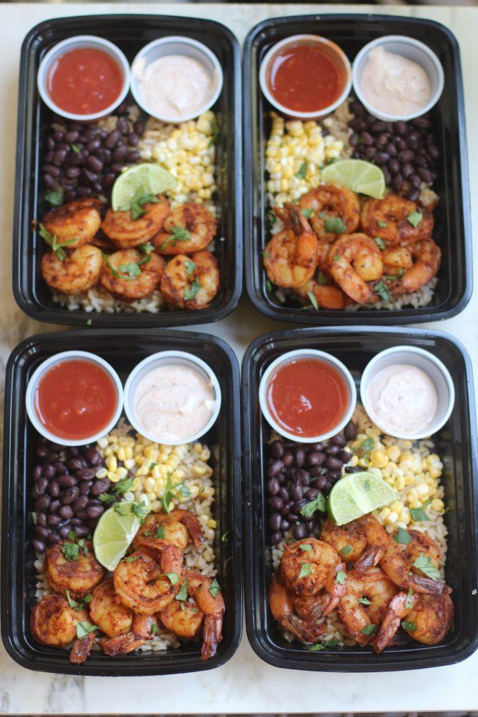Shrimp Taco Bowls 2