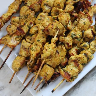 Whole 30: Moroccan-Spiced Chicken Skewers